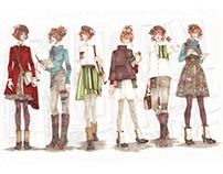 Fashion Studio Project: La Bibliotheque