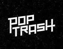 Poptrash Logo design