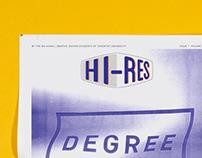 Hi-Res: Degree Show Edition