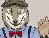 Dapper Wolf - May2014
