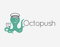 Octopush - Corporate identity and website redesign