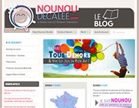 Blog Design Refresh for Nounou Decalée
