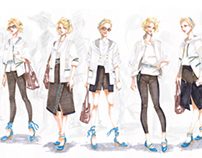 Fashion Studio Project: Jeu de Paume