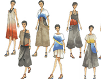 Fashion Studio Project: Across the land and the sky