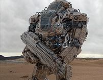 Juggernaut Mech Design