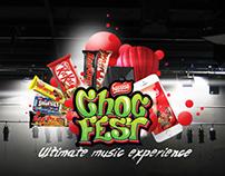Nestle Choc Fest concept