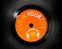 Live in your City - Live music platform