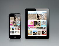 'Cinq Etoiles'  website design