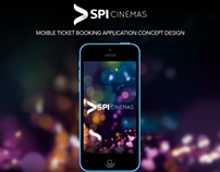 SPI Cinemas Mobile App Concept and Prototype (iOS)