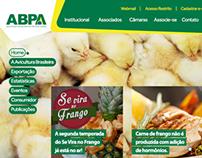 Site ABPA (Associação Brasileira de Proteína Animal)