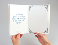 Silver Lined Notebook