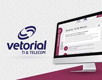 Hotsite Vetorial.net na Feira do Polo Naval 2014