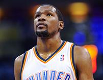 Kevin Durant MVP Poster