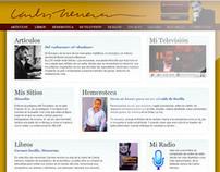 Nueva web Carlos Herrera