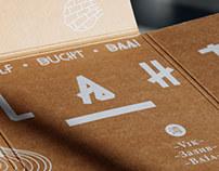 Lahti Region - Custom Type and Print Design