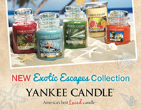The Yankee Candle Company, Inc. - Freelance Design