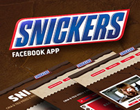 Facebook Interactive App for Snickers Portugal