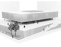 Cultural center in Galdakao, Basque Country