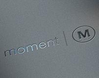 moment | M - Logo Design