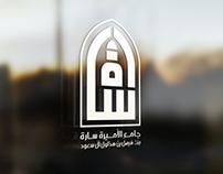 شعار وهوية جامع الأميرة سارة الرياض