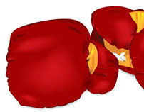 Illustration Boxing Gloves