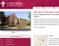 Concordia Lutheran Church Website