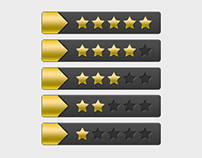 Rating Stars Button