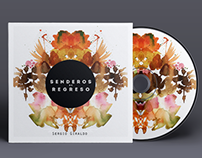 Senderos de Regreso. CD cover design
