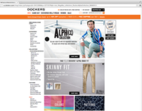 Dockers® Alpha Fit Guide