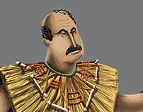 El Gran Vairitosky. Character Design