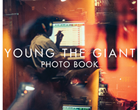 YOUNG THE GIANT Photo Book Layout/Design