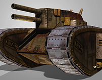 Basic Tank 2: Double Barrel