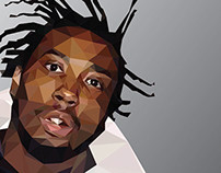 Ol Dirty Bastard - Low-poly