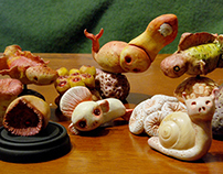 S C U L P T U R E // sea creatures