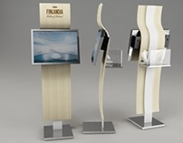 Finlandia - display holder design
