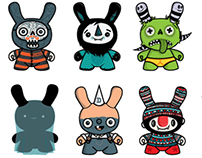 Kidrobot Dunny concepts by wotto
