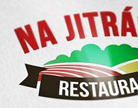 Na Jitrách - logo design