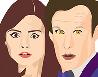 Doctor who flat design