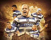 Bath Rugby Club - Visual Branding