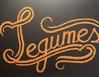 Lettering: Legumes