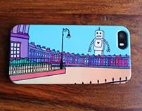 Royal Crescent, Bath iPhone case