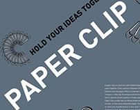 Paper Clip Posters