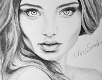 Miranda Kerr Portrait