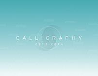 CALLIGRAPHY 2013-2014
