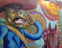 Painel in the restaurant Dedo de la Chica_2014