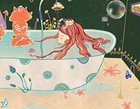 bath girl