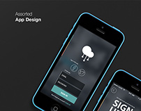 Assorted App Designs