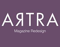 Artra - Magazine Redesign
