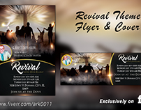 Revival Theme Flyer and cover @ Fiverr