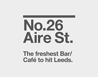 No.26 Aire St., Brand Identity & Application